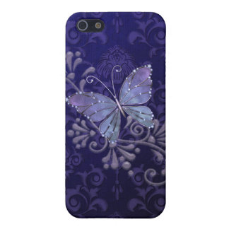 Jewel Butterfly Cover For iPhone SE/5/5s