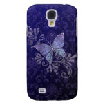 Jewel Butterfly Galaxy S4 Covers