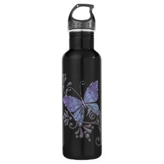 Jewel Butterfly Stainless Steel Water Bottle