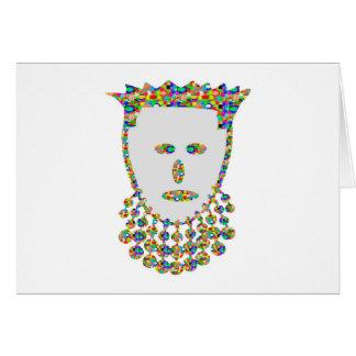 Jewel Carved Prince Princess ART by NAVIN Joshi Cards