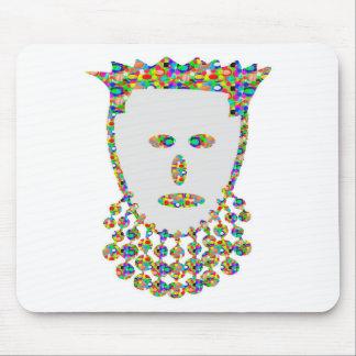 Jewel Carved Prince Princess ART by NAVIN Joshi Mouse Pad