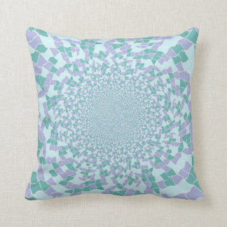 Jewel Dazzle Cushion blue/turqoise all over design Pillow