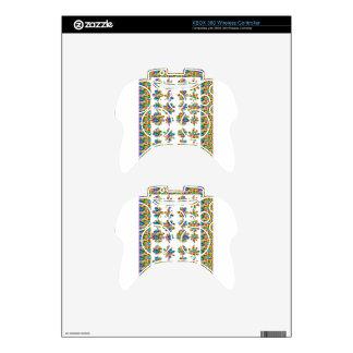 JEWEL Design Border Decorative art by NAVIN JOSHI Xbox 360 Controller Skin