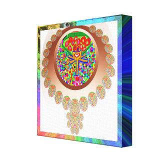 Jewel Design  : For Winners Canvas Print