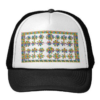 JEWEL el arte decorativo de la frontera del diseño Gorra