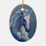 Jewel el unicornio ornamentos para reyes magos