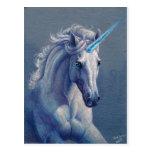 Jewel el unicornio tarjeta postal