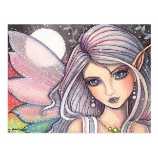 Jewel Fairy Postcard by Molly Harrison