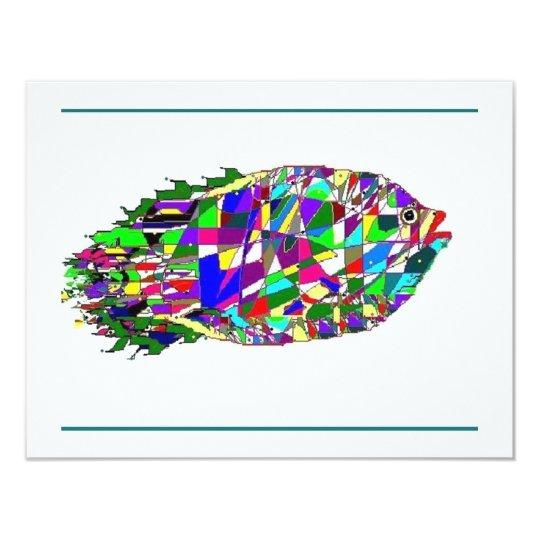 Jewel Fish Card