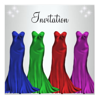 Jewel Formal Gowns Ladies Night Silver Announcements