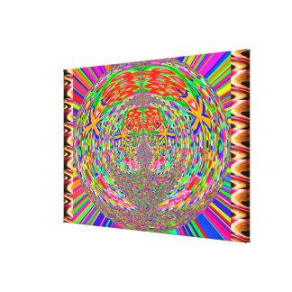 JEWEL Glitter Sparkle Blue Canvas Print