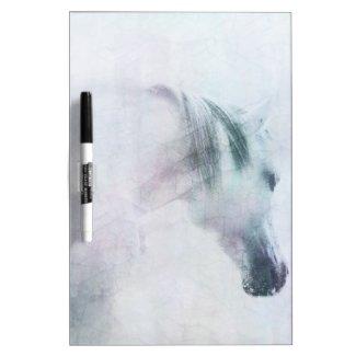 'Western / horse dry erase board