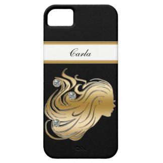 Jewel iPhone 5 Case Monogram