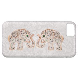 Jewel la foto de los elefantes y el caso del iPhon Funda iPhone 5C