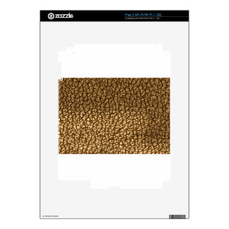 Jewel like texture on leather background template decals for the iPad 2