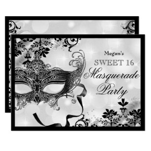 Masquerade Invitations Announcements Zazzle