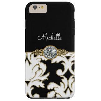 Jewel Monogram Style iPhone 6S Plus Tough iPhone 6 Plus Case