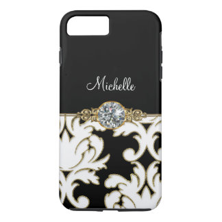 Jewel Monogram Style iPhone 7 Plus iPhone 7 Plus Case