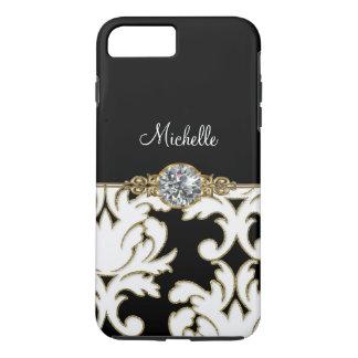Jewel Monogram Style iPhone 7 Plus iPhone 7 Plus Case