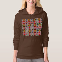 Jewel n Diamond Pattern with EDITABLE Text Hoodie