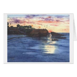 JEWEL OF LA JOLLA, CALIFORNIA CARD