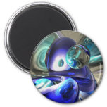 Jewel of the Nile Abstract Magnet