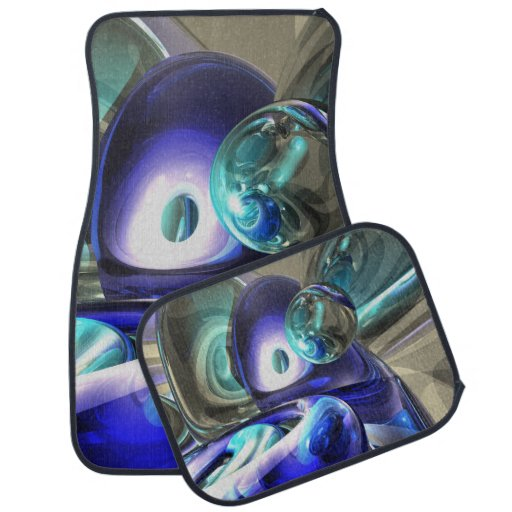 Jewel of the Nile Abstract Car Mat