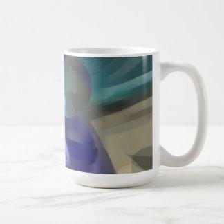 Jewel of the Nile Pastel Abstract Coffee Mug