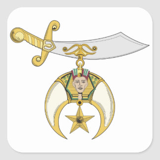 Jewel of the Order Square Sticker