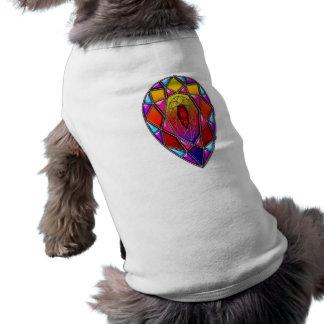 Jewel or Gem Shaped Digital Artwork Shirt