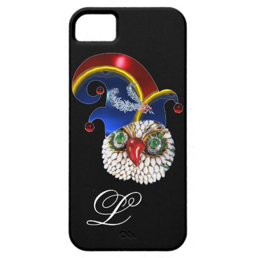 JEWEL OWL AND  ELF HAT WITH DIAMOND FEATHERS iPhone 5 CASES