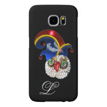 JEWEL OWL AND  ELF HAT WITH DIAMOND FEATHERS SAMSUNG GALAXY S6 CASE