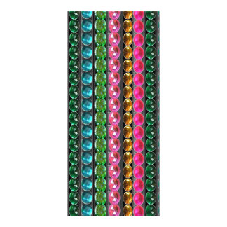 Jewel Pearls Crystal Stones WEDDING Collection FUN Rack Card