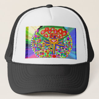 Jewel set in HEART CHAKRA Trucker Hat