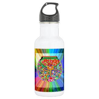 Jewel set in HEART CHAKRA Water Bottle