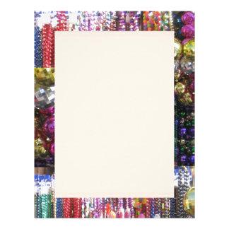 JEWEL Sparkle Print : Enjoy n SHARE the Joy Letterhead