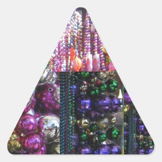 JEWEL Sparkle Print : Enjoy n SHARE the Joy Triangle Sticker