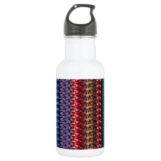 JEWEL Sparkle Strip : Las Vegas CASINO style deco Stainless Steel Water Bottle