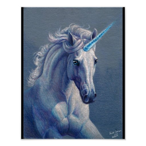 Jewel the Unicorn Poster