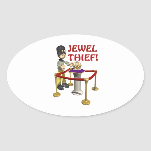 Jewel Thief Sticker