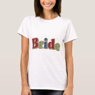 Jewel Tone Bride T-Shirt