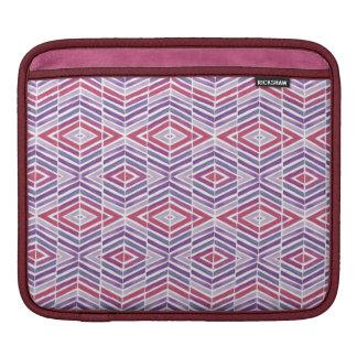 Jewel Tone Diamond Geometric Sleeve For iPads