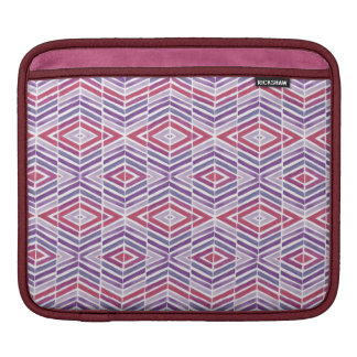 Jewel Tone Diamond Geometric Sleeves For iPads