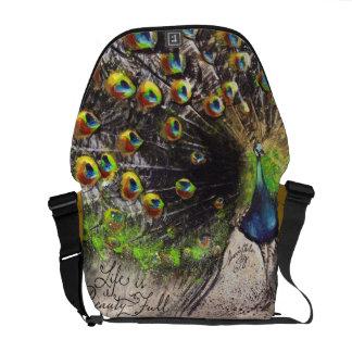 Jewel Tone Peacock Beauty~Full Bag