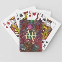 Jewel-toned Autism Playing Cards