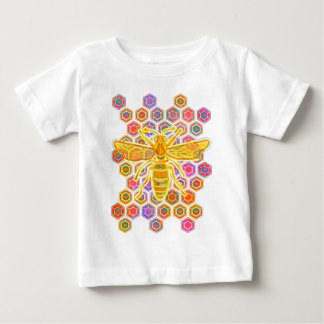 Jewel Toned Bee Baby T-Shirt
