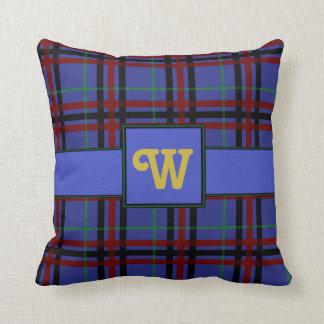 Jewel-Toned Plaid Pillow