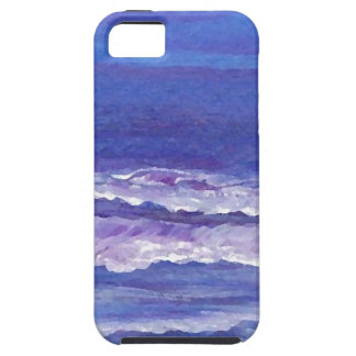 Jewel toned sunset ocean waves seascape gifts iPhone 5 cover