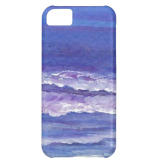 Jewel toned sunset ocean waves seascape gifts iPhone 5C cases
