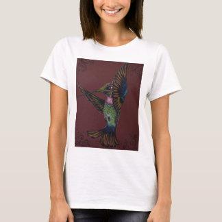 Jewel toned sword billed hummingbird T-Shirt